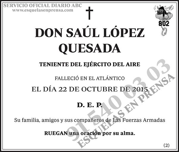 Saúl López Quesada